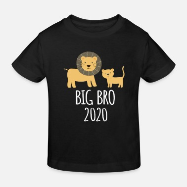 Siblings Brother 2020 sibling lion gift - Kids' Organic T-Shirt