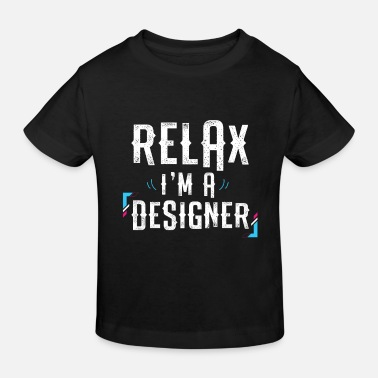 Cool Relax, je suis un cadeau Designer Lovers Graphic - T-shirt bio Enfant