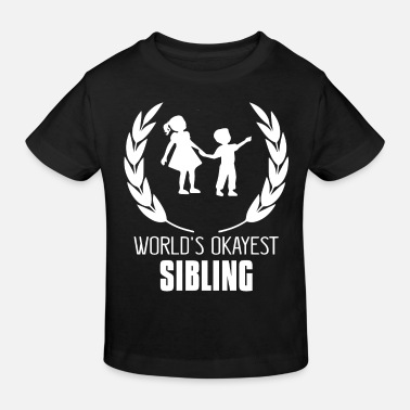 Siblings sibling - Kids' Organic T-Shirt