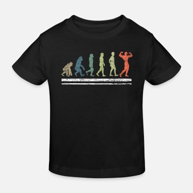 Mann Bodybuilding Evolution - Kinder Bio T-Shirt