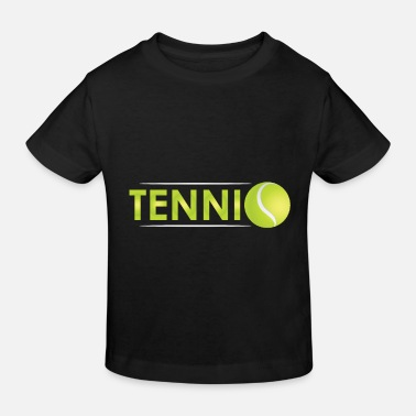 Cooler Text-Tennisball - Kinder Bio T-Shirt