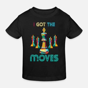 Schack Chess move sport - Ekologisk T-shirt barn