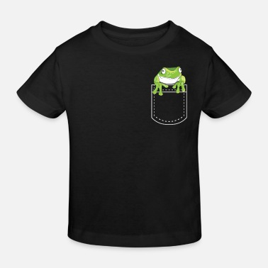 Emotion Frog toads amphibian shirt gift idea - Kids' Organic T-Shirt