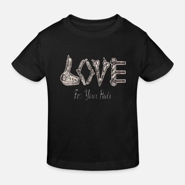 Love For Your Hair Coiffeur Sèche-cheveux Cheveux - T-shirt bio Enfant