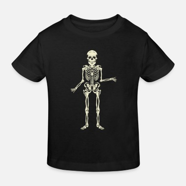 Skelett - Kinder Bio T-Shirt
