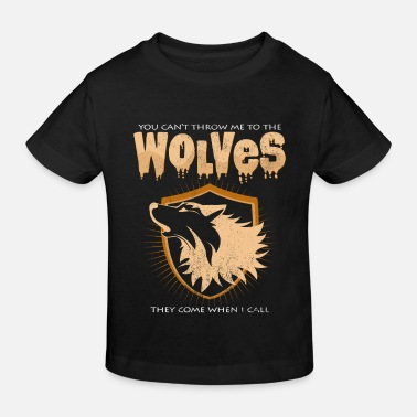 Wolfpack Wolves Funny Sayings Cool Statement Wolf Gift - Kids' Organic T-Shirt