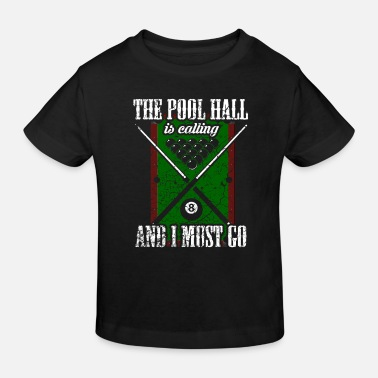Pool Pool Billiards Pool Billiards - T-shirt bio Enfant
