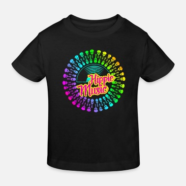 Hippie Hippie music - Kids' Organic T-Shirt