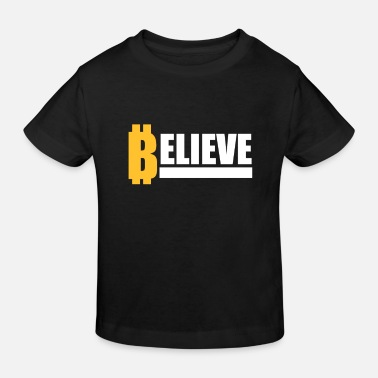 Currency Crypto Currency - Kids' Organic T-Shirt