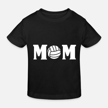 Vball Volleyball Mom Mother Beach Volleyball Volleyball Player - Kids' Organic T-Shirt