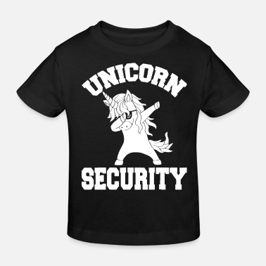 Lovely Unicorn Security Shirt Magical Costume Tee Cute Gu - Kids' Organic T-Shirt