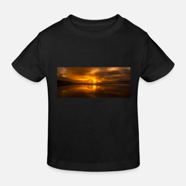 Orange Sunrise over the ocean - Great Ocean Road, Au - Kids' Organic T-Shirt