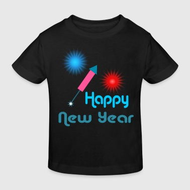 Happy New Year - Camiseta ecológica niño