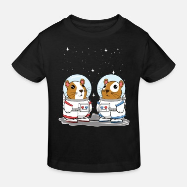 Guinea Pig Space Astronauts for Cavy Lovers - Kids' Organic T-Shirt
