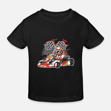 Go Cart Go Kart Racetrack - T-shirt bio Enfant