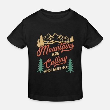 Retiret Hiking My retiret plan to go hiking Funny - Kids' Organic T-Shirt