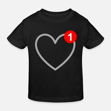 Sms Amour - Message - SMS - Love - T-shirt bio Enfant