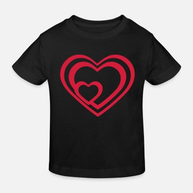 Tlc Heart Hearts - Kinder Bio T-Shirt