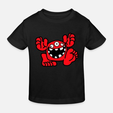 Proud To Be A Monster Cartoon by Cheerful Madness! - Kids' Organic T-Shirt