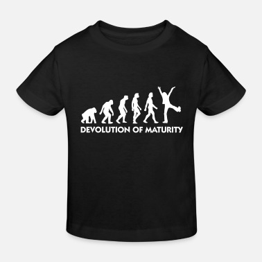 Mature The Evolution Of Maturity - Kids' Organic T-Shirt