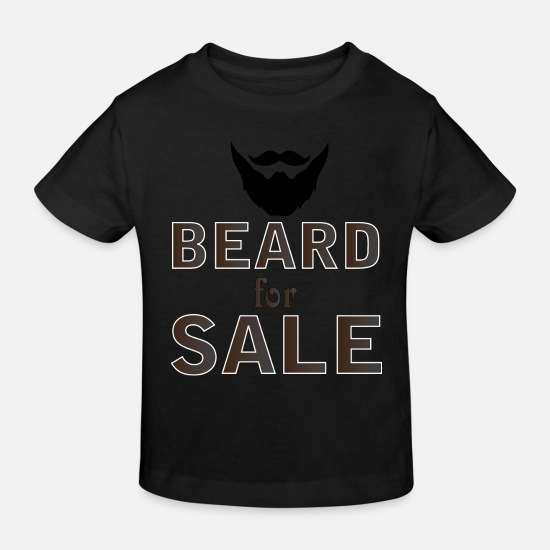 Till Baby Clothes - Beard for Sale - Kids' Organic T-Shirt black