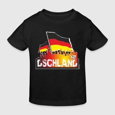 Fanblock deutschland - Kinder Bio-T-Shirt