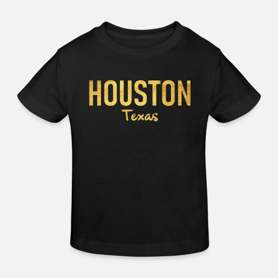 Houston Baby Clothes - Houston - Texas - United States - United States - US - Kids' Organic T-Shirt black