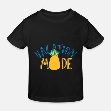 holiday relax vacation pineapple foreign party - Kids' Organic T-Shirt