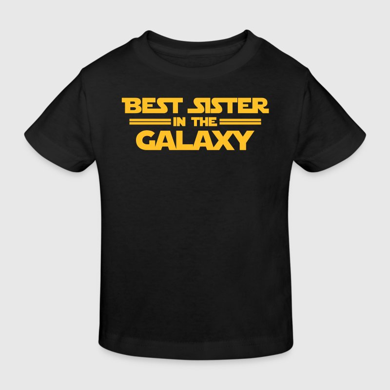 Best Sister in the Galaxy - Camiseta ecológica niño