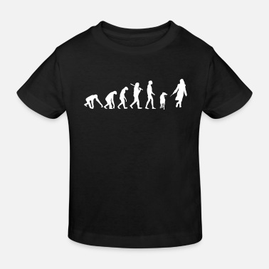 Evolution Walkies Walking Dog EVOLUTION WALKIES WALKING - Kids' Organic T-Shirt