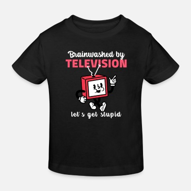 Picture TELEVISION FUNNY PICTURES - T-shirt bio Enfant