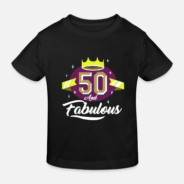 50 50th birthday gift - Kids' Organic T-Shirt