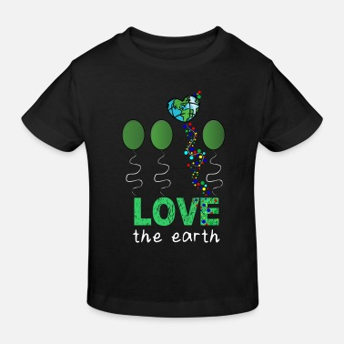 Mother Love Mother Earth - Kids' Organic T-Shirt