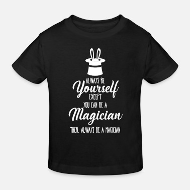 Magic Magic Hat - Magic - Magic - Mage - Wizard - Økologisk T-skjorte barn