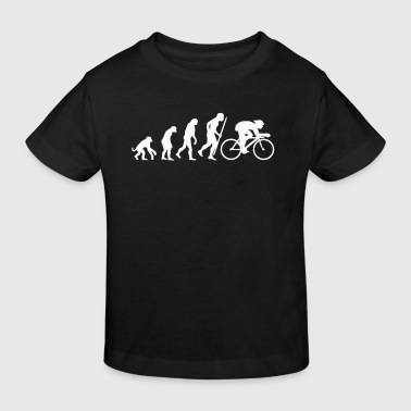 Bike Evolution of cycling - Kids' Organic T-Shirt
