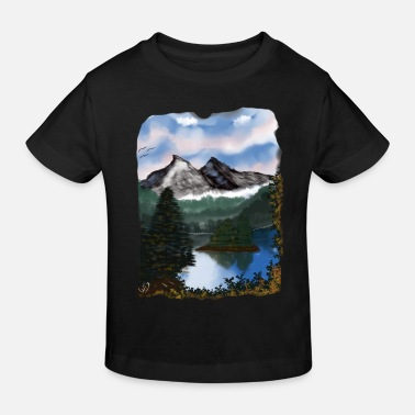 Mystic Mountain - Kids' Organic T-Shirt