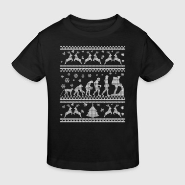 CLIMBING CHRISTMAS SEDITION EVOLUTION  - Kids' Organic T-shirt