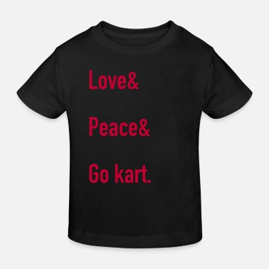 Course Automobile Go Kart Karting Course Go Kards cadeau GoKart de course - T-shirt bio Enfant