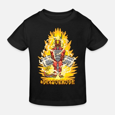Ball #Dragonmode (Aura Version) - Kids' Organic T-Shirt