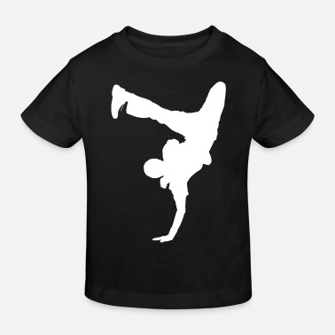 Breakdance Breakdancer Handstand Gift Kids Breakdancing - Kinderen bio T-shirt