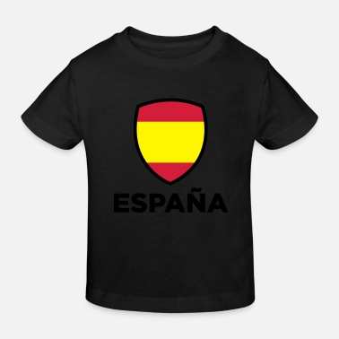 Spanish National Flag of Spain - Kids' Organic T-Shirt