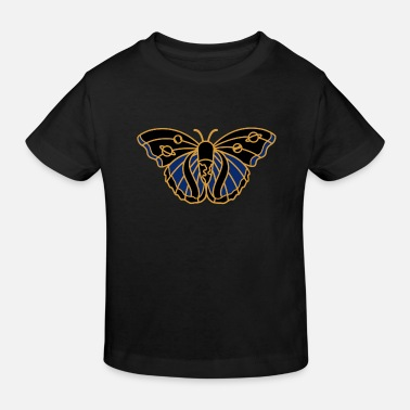 Butterfly - Beautiful Butterfly - Camiseta orgánica niño