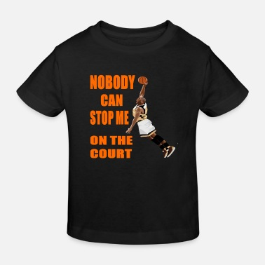 Court king of the court - Kids' Organic T-Shirt