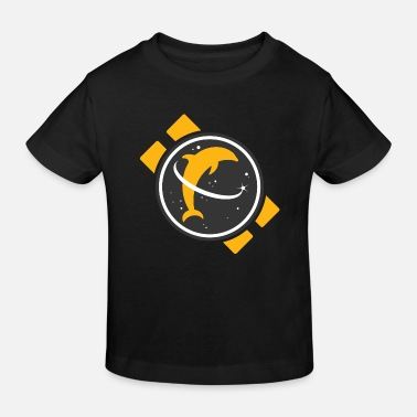 Space Dolphin - Kids' Organic T-Shirt
