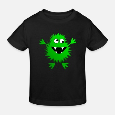 Christina Creation green monster - Kids' Organic T-Shirt