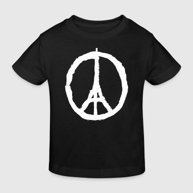 PRAY FOR PARIS - PEACE FOR PARIS - Kids' Organic T-shirt