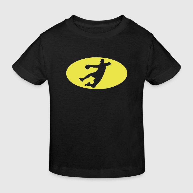 handball logo bat1 - T-shirt bio Enfant