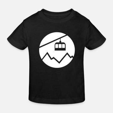 Cable Car Cable car mountains - Kids' Organic T-Shirt