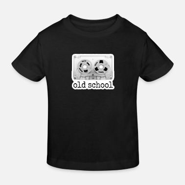oldschool tape cassette - Kinder Bio T-Shirt
