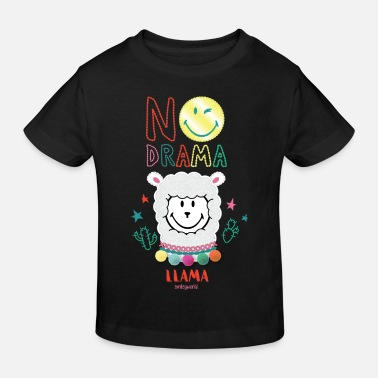 SmileyWorld No Drama Llama - Ekologisk T-shirt barn